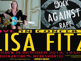 LISA FITZ LIVE DABEI BEIM ERSTEN RAR KONZERT AM 26.10.18 IN DER NACHTKANTINE/WERKSVIERTEL