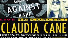 AC/DC Supporterin CLAUDA CANE LIVE DABEI BEIM ERSTEN RAR-KONZERT IN MÜNCHEN