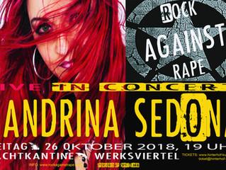 SANDRINA SEDONA LIVE DABEI BEIM ERSTEN RAR KONZERT AM 26.10.18 IN DER NACHTKANTINE/WERKSVIERTEL