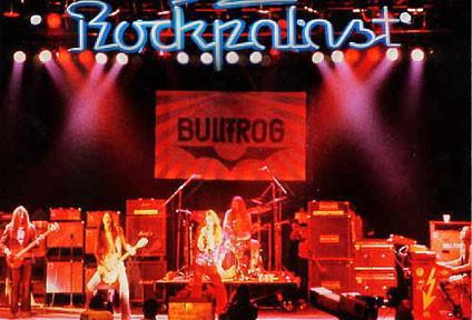 Bild: Bullfrog in der Dortmunder Westfalenhalle, Rockpalast-Aufzeichnung 1978