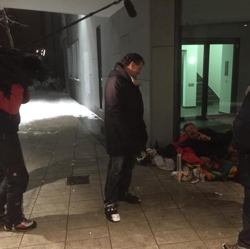 Unterwegs mit dem Münchner Kältebus -ARD-Morgenmagazin