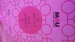 PINK RIBBON BALL - CHARITY LONDON 2017