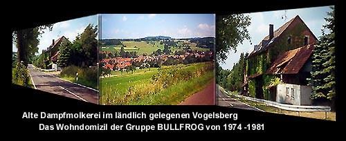 Bilder: Wohndomizil der Gruppe im Vogelsberg