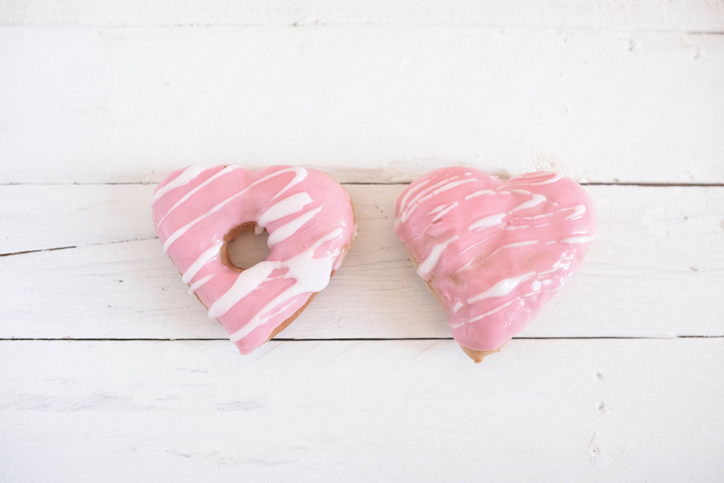 Love Heart Donuts