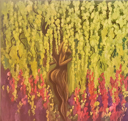 Emeraude's Garden 60 x 60 _ 2016
