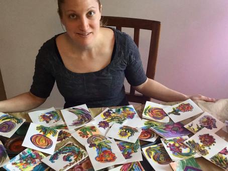 HAND MADE CARDS FOR SENIORS
