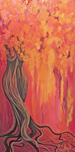 Divine orange bliss 30W x 60H N 2016