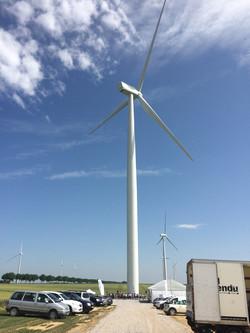 Inauguration parc éolien 2017