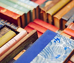 Colourful Pile of Old Books