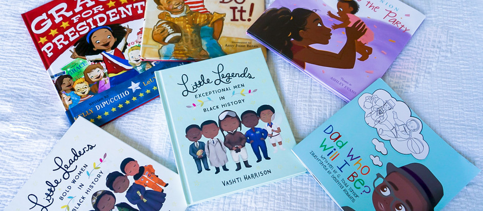 6 Children's Books - Black History