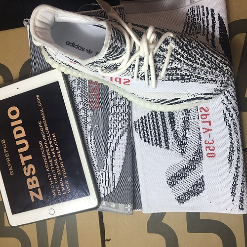 Authentic Yeezy boost 350 v2 White and red for sale canada Box