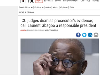 ICC Judges dismiss Prosecutors evidence and call Laurent Gbagbo a responsible President