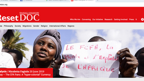 """The CFA franc: A """"hyper-colonial"""" Currency"""