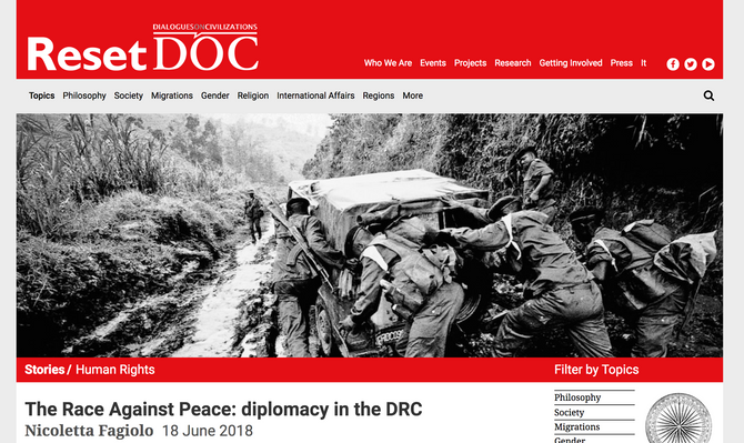 The Race Against Peace: diplomacy in the DRC