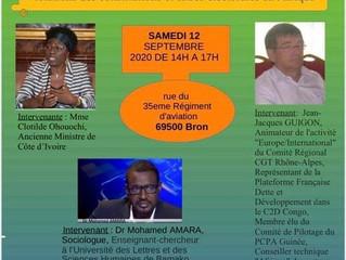 Violations des Constitutions et crises électorales en Afrique: Côte d'Ivoire    MCDCI   LYON  2020
