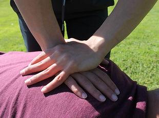 Chiropractic adjustment in Burlington, ON