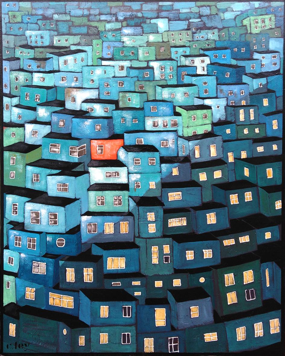 favelas blue