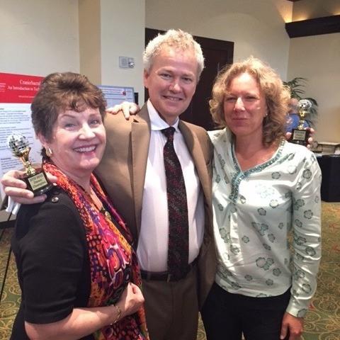 Suzanne Scurlock-Durana, Dr. John Upledger & Kate Mackinnon