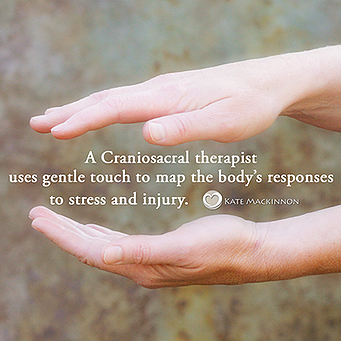 How do I become a Craniosacral therapist?