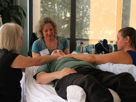 Veterans with PSTD receive the gift of healing with craniosacral therapy