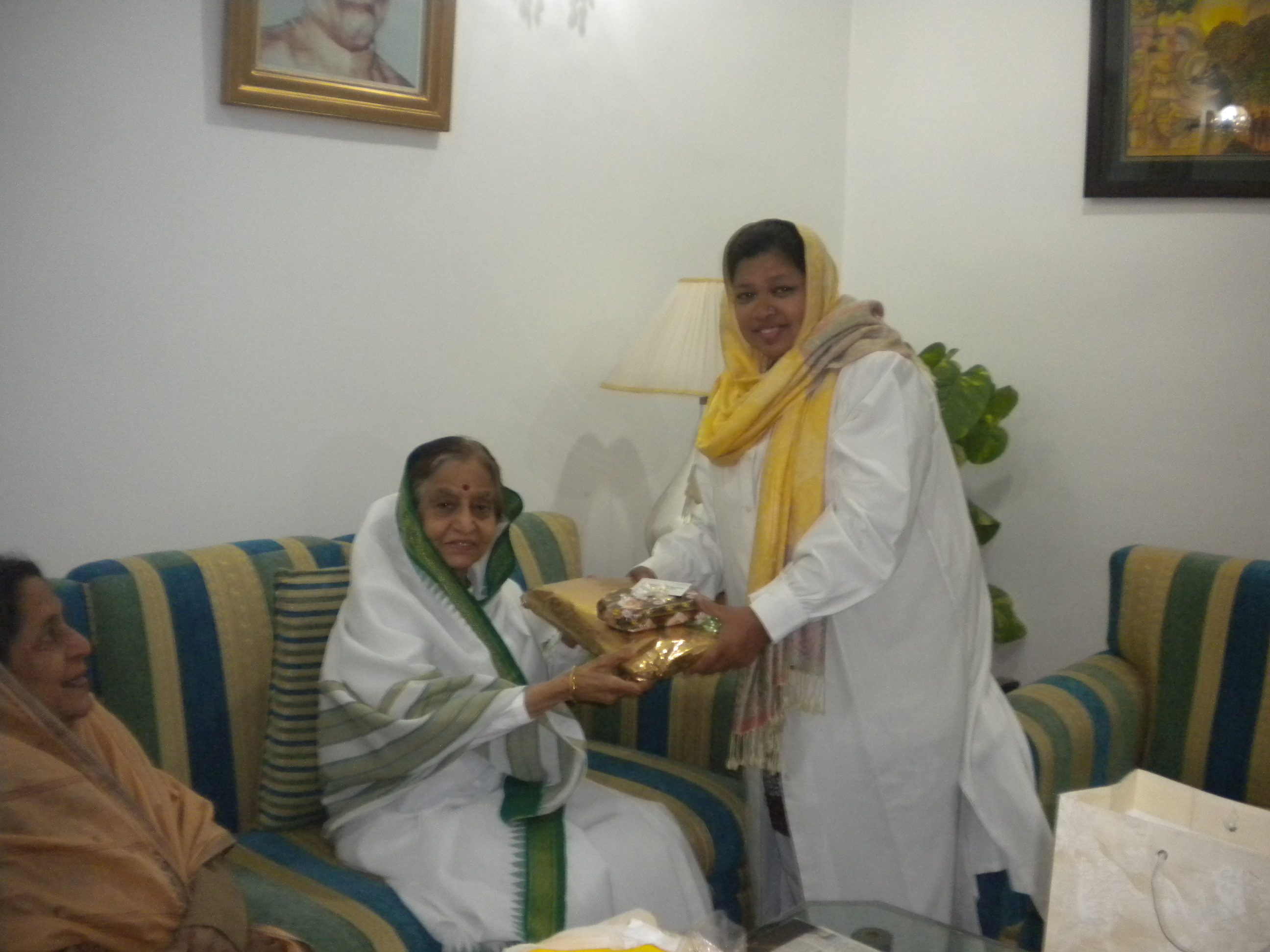With Honorable Ex- President Mrs. Pratibha Patil ji