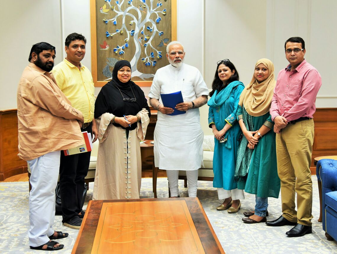 8th Aug 2017, Team AIMWPLB meets PM Narendra Modi