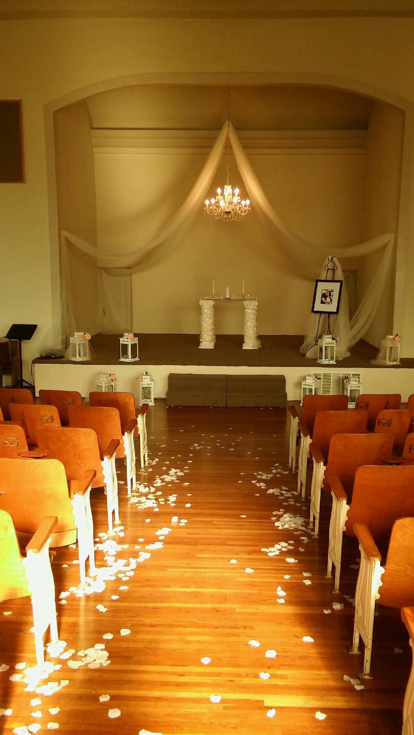 Stage, Wedding