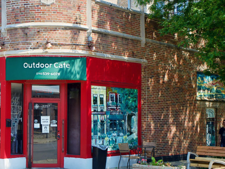 The Outdoor Cafe