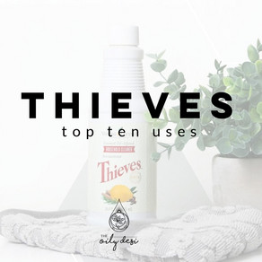 THIEVES   Ten Uses for One Bottle of Thieves Household Cleaner
