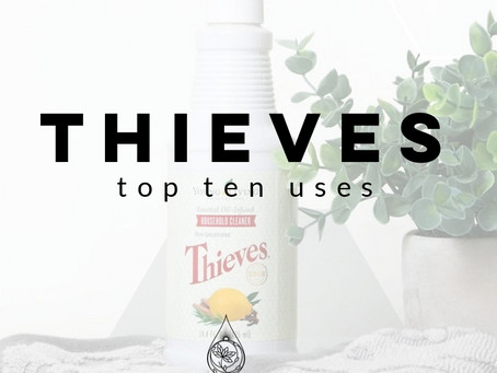 THIEVES | Ten Uses for One Bottle of Thieves Household Cleaner