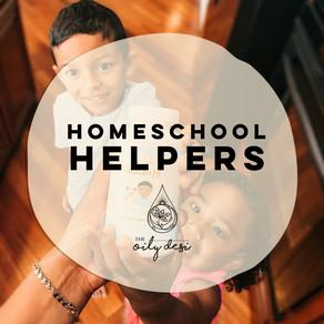 Homeschool Helpers - 4 Oils My Kids and I Use Everyday