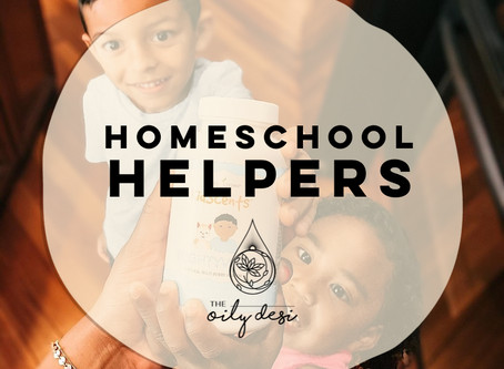 Homeschool Helpers - 4 Oils My Kids and I Use Everyday