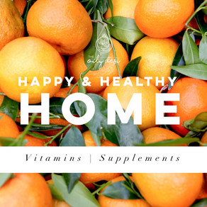 Happy & Healthy Home - Vitamins   Supplements