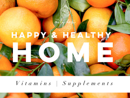 Happy & Healthy Home - Vitamins | Supplements