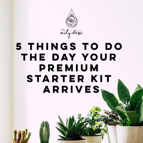 5 Things to Do the Day Your Premium Starter Kit Arrives