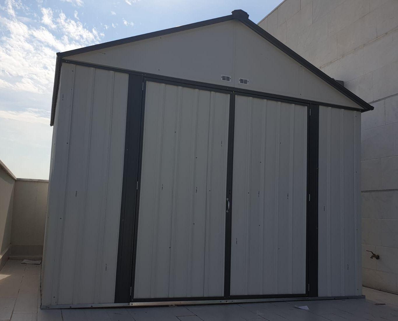 מפואר מחסן גינה איקאה | מחסן מתכת | מחסן לגינה | ID-garden מחסן גינה DH-45