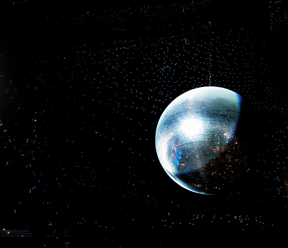 New Year's Resolutions Disco Ball