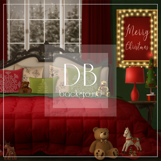 Christmas Bedroom Classic Red and Green