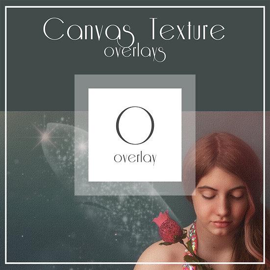 Canvas Texture - Overlay