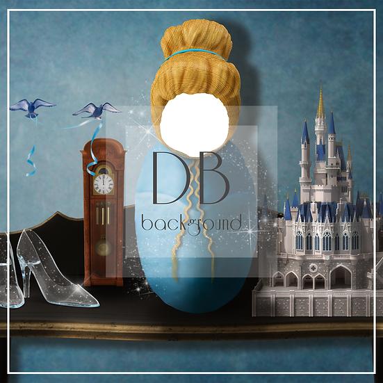 Cinderella Inspired Shelf  -  Newborn