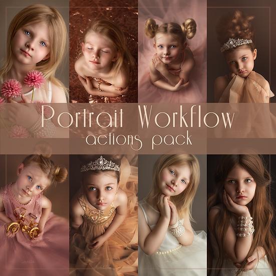 Portrait Workflow Actions Pack