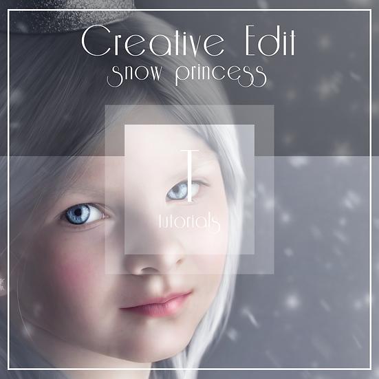 Snow Princess  -  Creative Tutorial