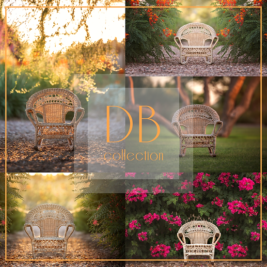 Toddler Chair Digital Background Collection