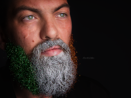 Glitter Glamour Beard Portraits