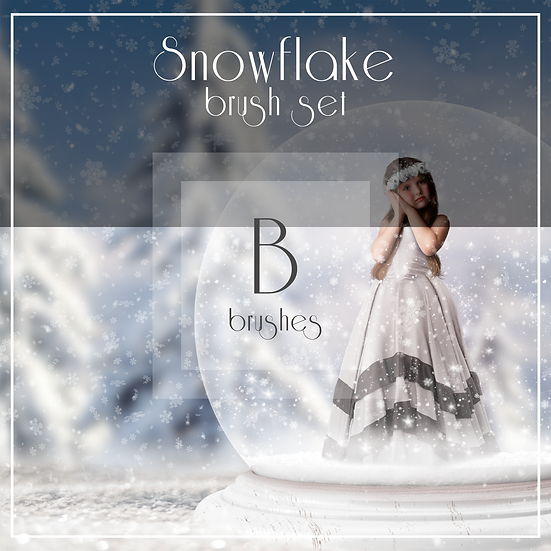 Snowflake  -  Brush Set