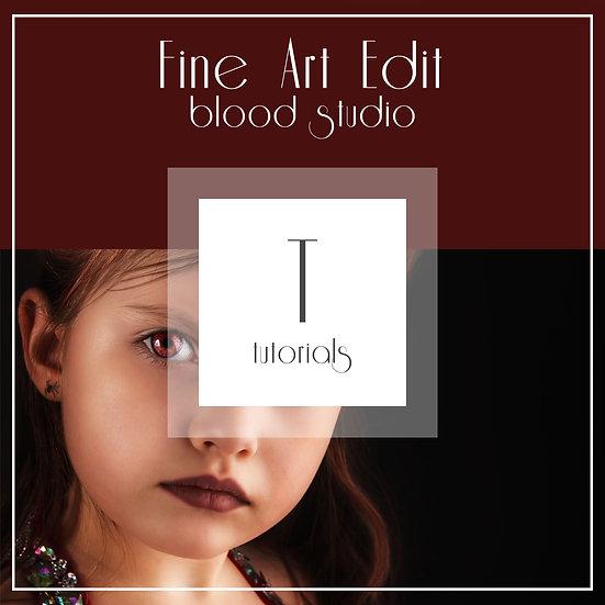 Blood Studio - Fine Art Edit