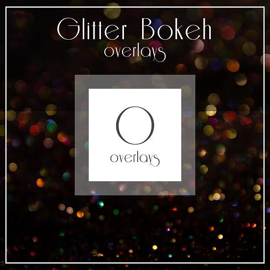 Glitter Bokeh  -  Overlays