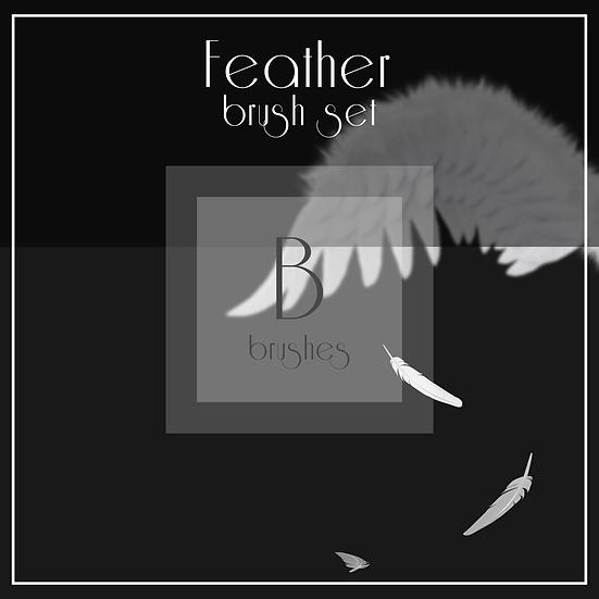 Feather  -  Brush Set