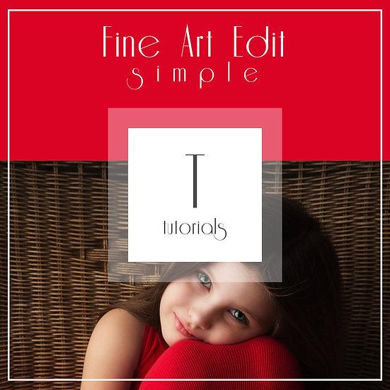 s i m p l e  -  Fine Art Edit
