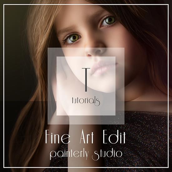 Painterly Studio  -  Fine Art Edit